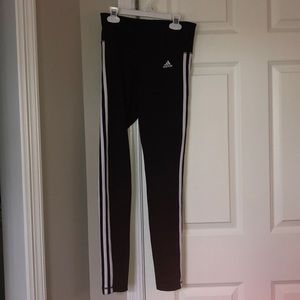 adidas stretchy stripe pants